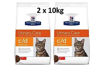 Hill s prescr iption Diet Feline C/D multicare Chicken: 2 x ...