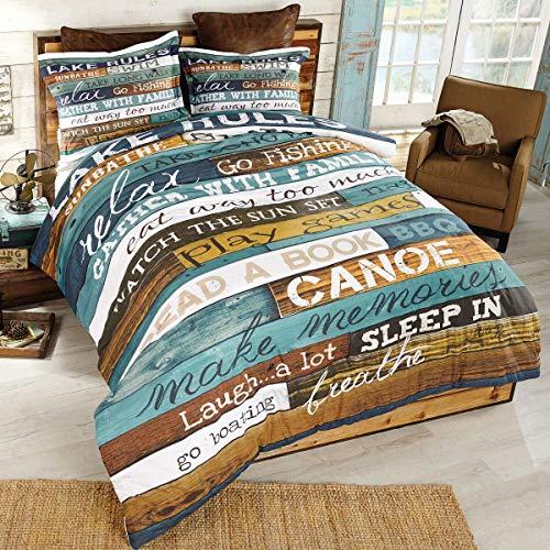 BLACK FOREST DECOR Lakeside Getaway Comforter - -