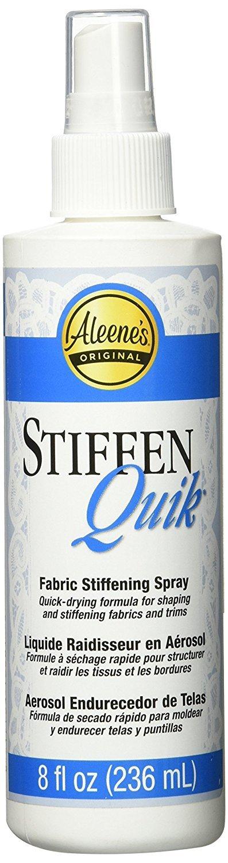 Amazon.com: Aleenes. Stiffen-Quick Fabric Stiffening Spray 8oz (Limited Edition)