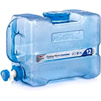 Tentock Outdoor Multifunctional Car Water Storage Tank Portable Water Container BPA Free, 12L/19L/24L