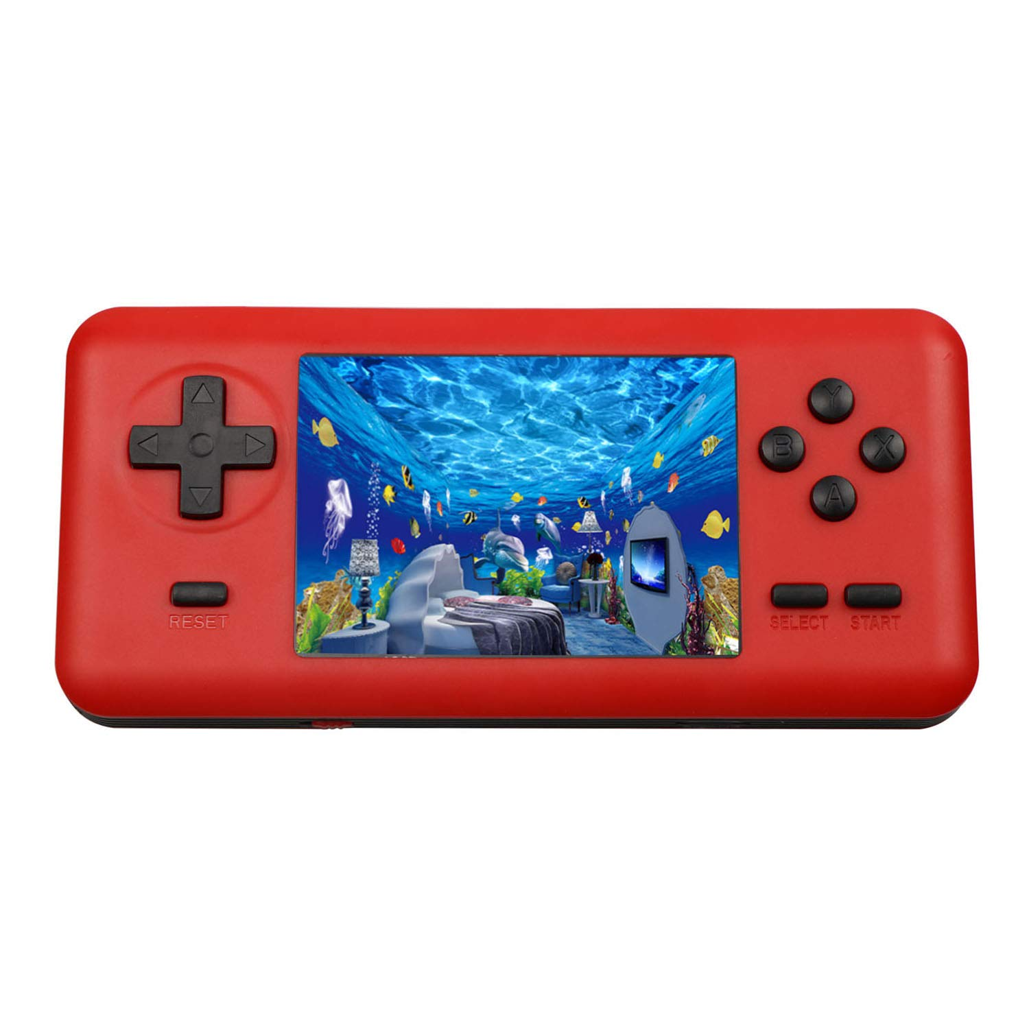 JAFATOY Handheld Retro Game Console for Kids Adults 150 Classic Games 8 Bit Games Player with AV Cable Can Play on TV Support TF Card Extensions Black