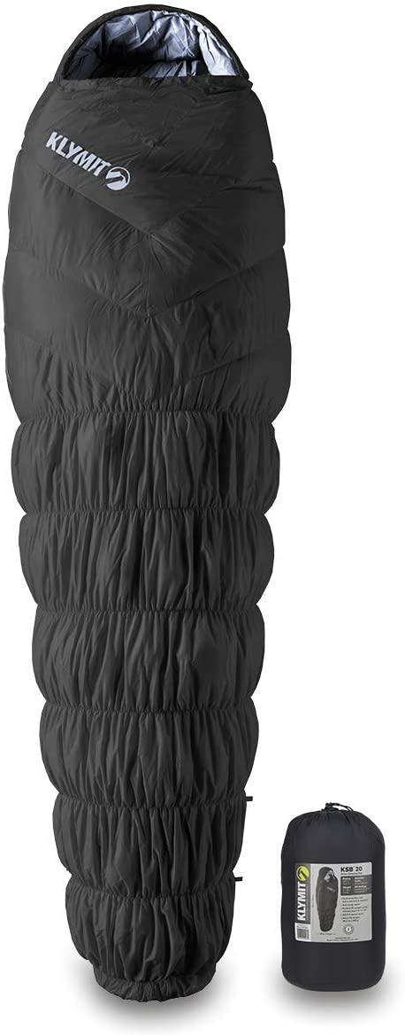Klymit KSB 20°F Large, Sleeping Bag, Great for Camping and Backpacking