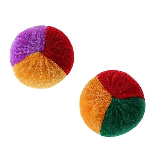 Pelota de malabares suave y colorida hecha a mano para niños ...