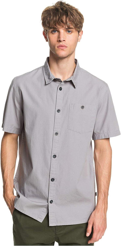 Quiksilver Men's Taxer Wash Short Sleeve Shirt