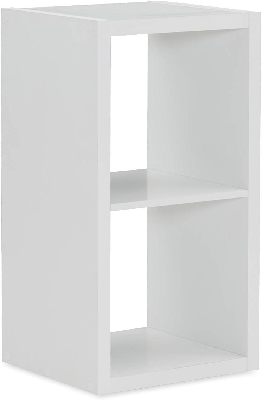 Linon Home Decor Linon Dawes 2 Cabinet White Cubby Storage