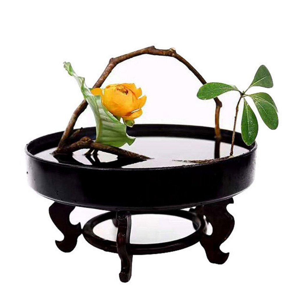 33cm Noir Homyl Ikebana Kenzan pour Arrangement Floral Base Conteneur 2pcs