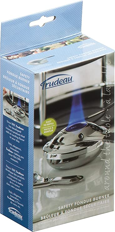 Amazon.com: Trudeau 082338 Fondue Safety Burner: Plates: Kitchen & Dining