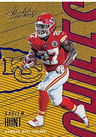 Trading com Collectibles Nfl Fine 2018 51 Kansas Art Official Made Football Hunt Card Absolute amp; Blue City Kareem By Panini Chiefs Spectrum Amazon