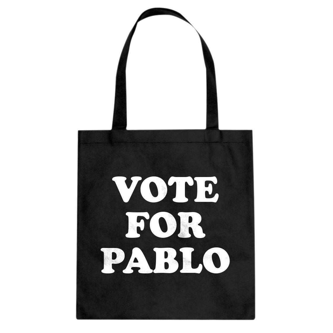 Indica Plateau Vote for Pablo Cotton Canvas Tote Bag