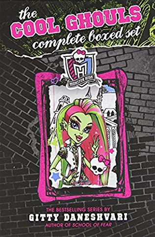 book cover of Monster High: The Cool Ghouls Complete Boxed Set