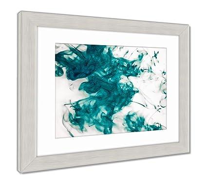 Amazon.com: Ashley Framed Prints Splash of Paint Isolated On White ...