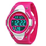Amazon Price History for:Kids Digital Watch - Girls Sports Waterproof Watch,Wrist Watches with Alarm Stopwatch for Youth Childrens