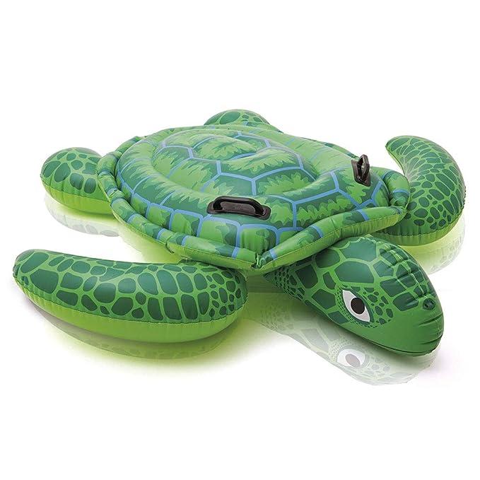 Intex 57524NP - Tortuga hinchable acuática con 2 asas 150 x 127 cm
