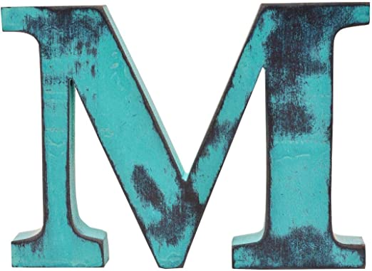 Personalised Wall mountable Letters Large wooden letters  wall art