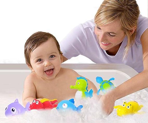 Vasca Da Bagno Per Neonati : Dsaren giocattoli bagno per bambini clockwork bagnetto giocattoli