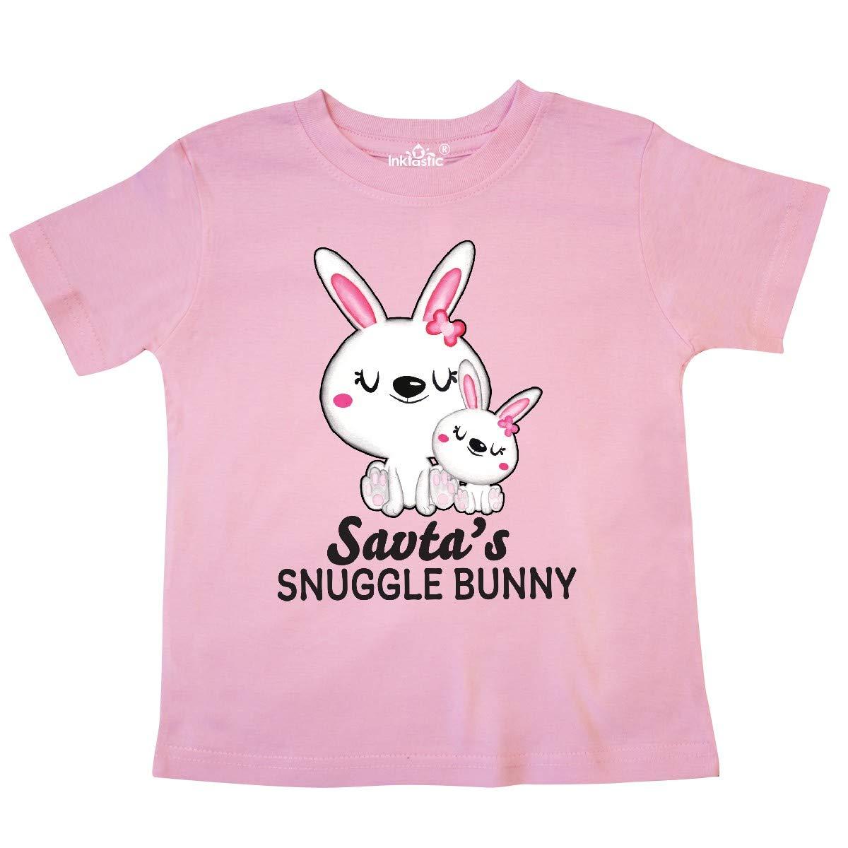 inktastic Savtas Snuggle Bunny Easter Toddler T-Shirt