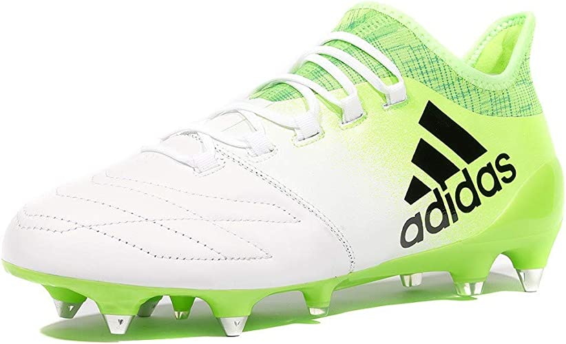 adidas X 16.1 SG Leather SG Homme Chaussures Football Blanc