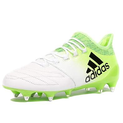Football 16 Chaussures BlancAmazon Adidas X Leather 1 Homme Sg vmN08wn