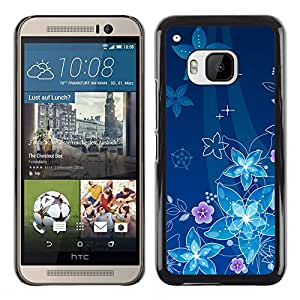¿Por qué nos flotar debajo del mar? - Metal de aluminio y de plástico duro Caja del teléfono - Negro - HTC One M9