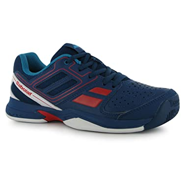 a999fdae91554 Babolat Kids Pulsion BPM Junior Tennis Shoes Breathable Trainers ...