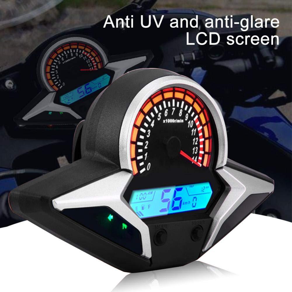 veloc/ímetro LCD digital modificado cuentakil/ómetros con sensor de velocidad para CBR250R CBR 250 2011-2013 ajuste directo KIMISS Veloc/ímetro de motocicleta