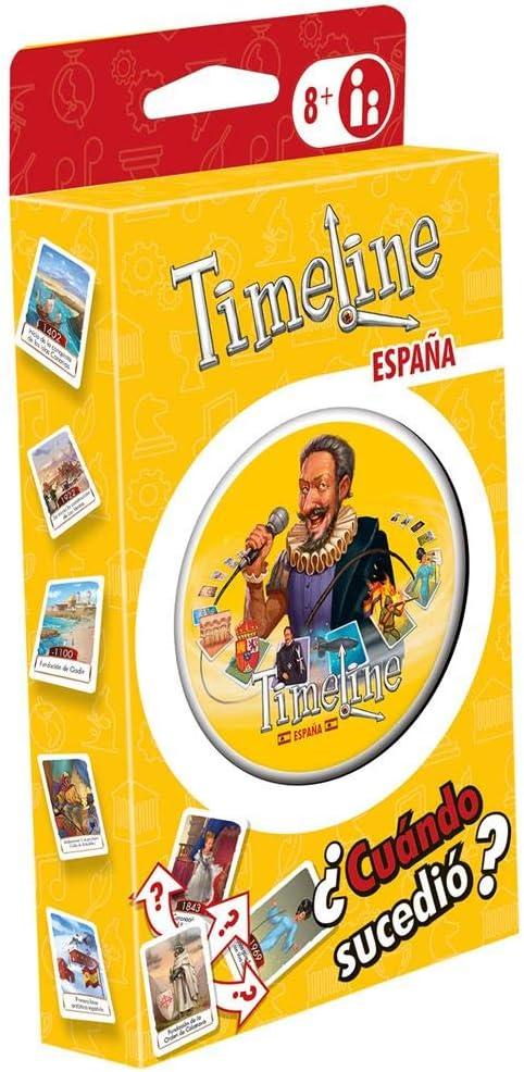 Timeline: España Juego de Cartas en Español: Amazon.es: Juguetes y juegos