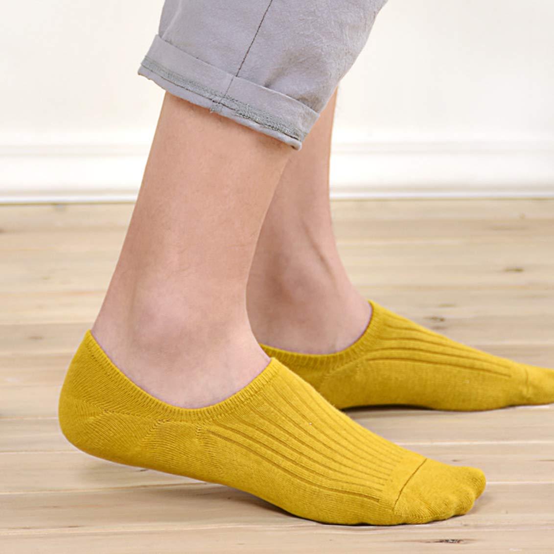 Socquettes Courtes Chaussette Antid/érapantes Respirantes en Cotton pour Mocassins Plats Sneaker 6 Paires Bestele Chaussettes Invisibles Hommes et Femmes