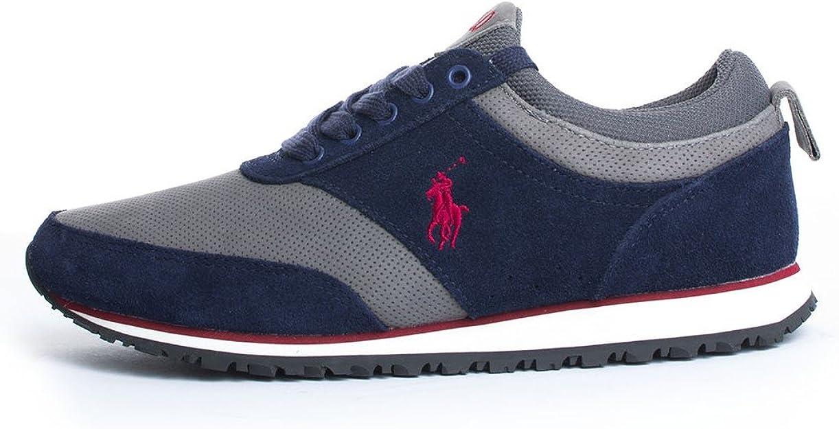 Polo Ralph Lauren - Zapatillas de Deporte Hombre, Azul (Azul), 46 ...