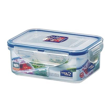 LOCK U0026 LOCK Airtight Rectangular Food Storage Container 15.55 Oz / 1.94 Cup