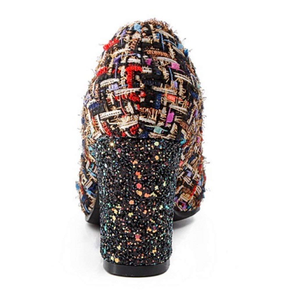 ZHRUI Scarpe da Donna con con con Tacco Alto alla Moda 9561f0