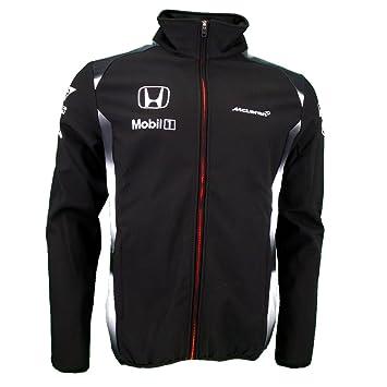 McLaren Honda F1 Team Negro Chaqueta Oficial 2016: Amazon.es: Deportes y aire libre