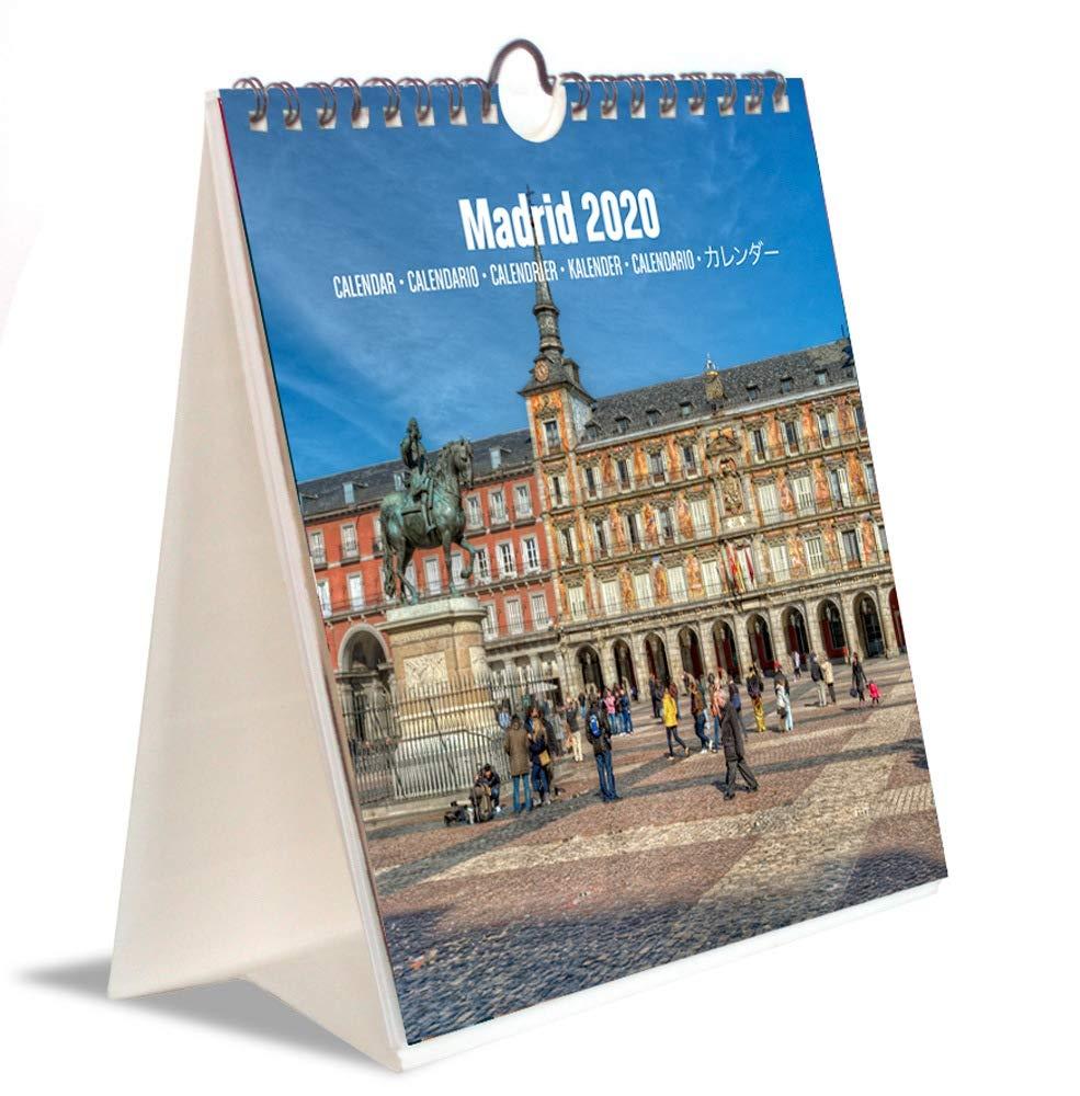 ERIK - Calendario Turístico Combi 2020 Madrid, 16,5 x 18 cm ...