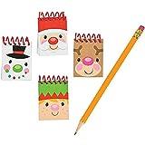 4 Dozen - Cheery Christmas Mini Notepads (48 Pcs) - Christmas Party Supplies