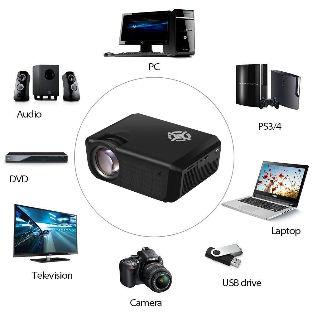 EstgoSZ - Proyector de vídeo (2800 lúmenes): Amazon.es: Electrónica