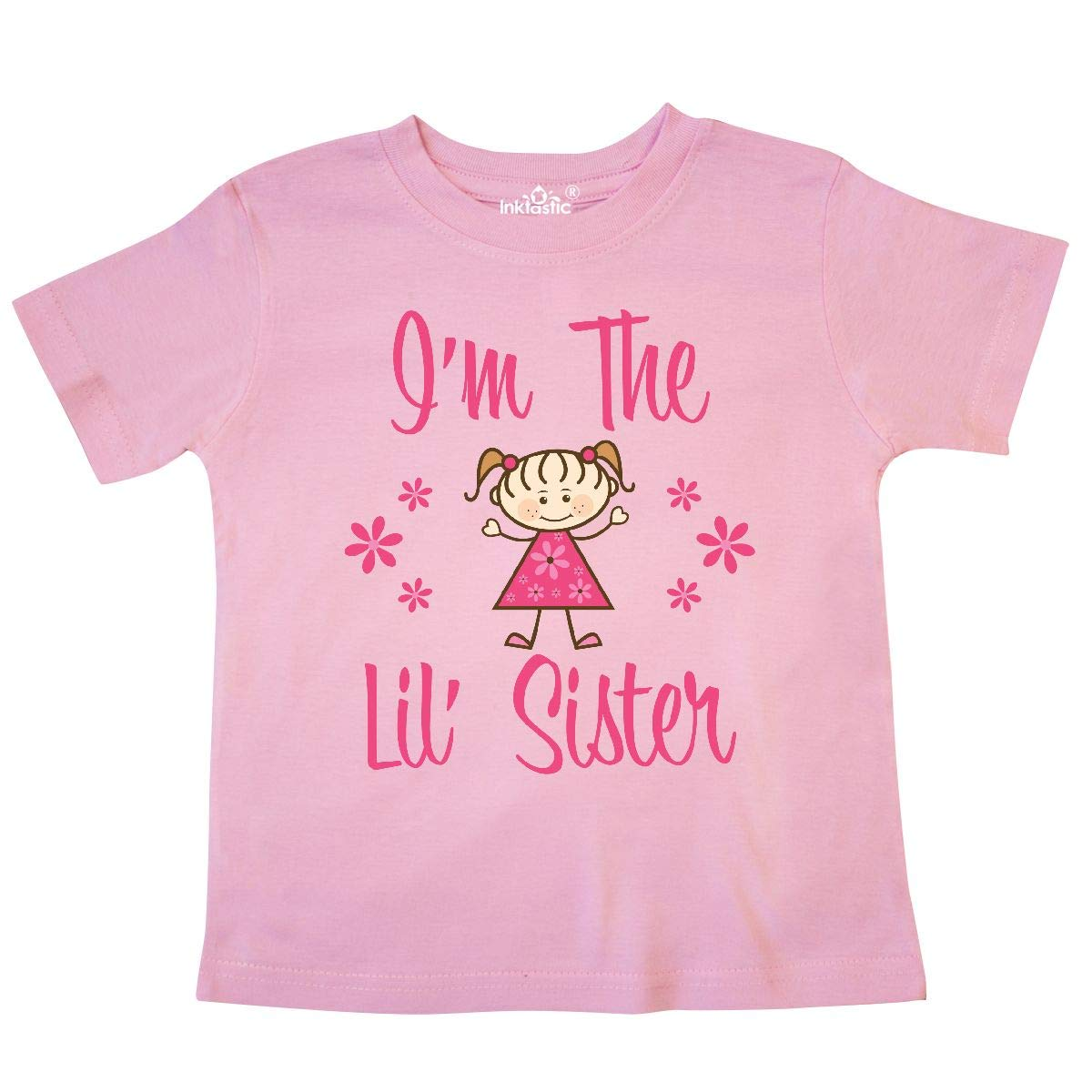 inktastic The Lil Sister Toddler T-Shirt