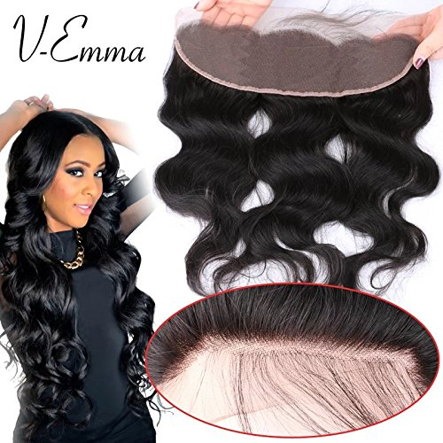 V-Emma 8A brazilian full lace frontal closure 13x4 body wave
