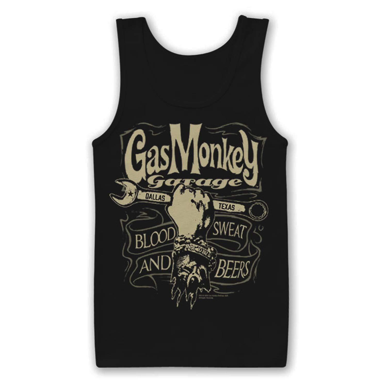 Gas Monkey Garage - Camiseta de Tirantes Licencia Oficial, con ...