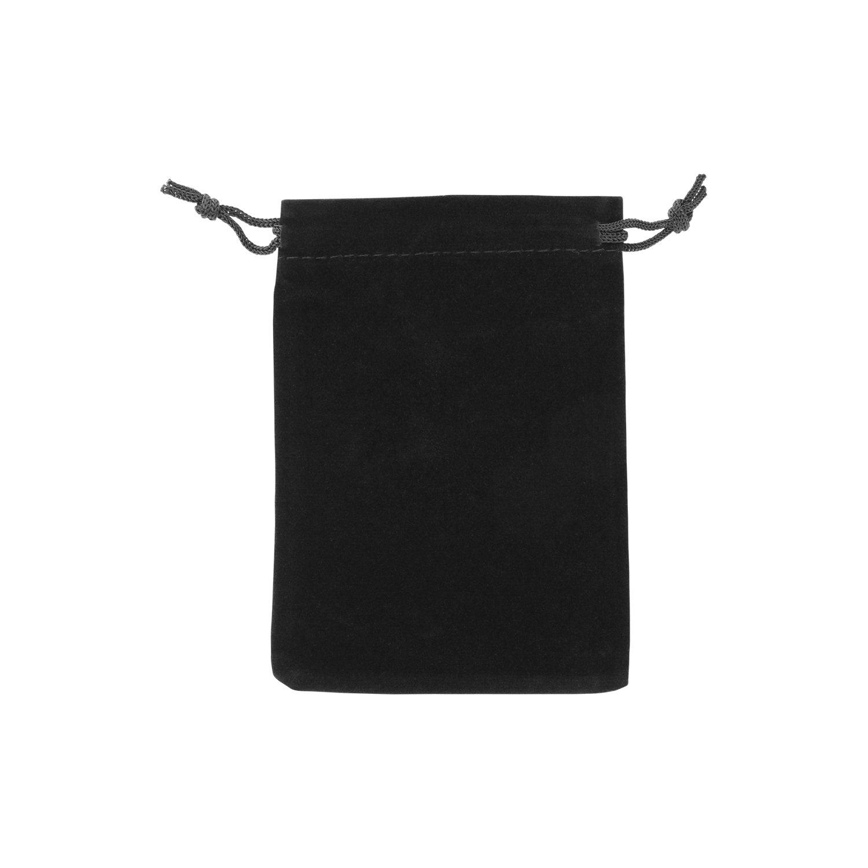 AURORIS - Samtbeutel ca. 12x9cm Farbe: dunkelblau - 1 Stück