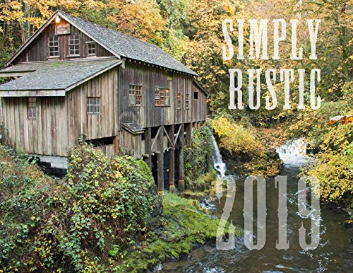 (Simply Rustic 2019 Country Wall Calendar Large 11x14