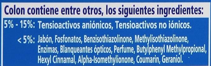 Colon Detergente liquido, 26 lavados Toque de Flor - 1771 ml ...
