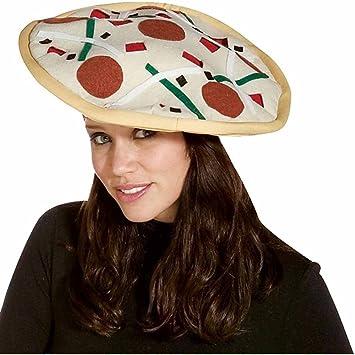 3e8f3680574ca Rasta Imposta Pizza Hat (gorro sombrero)  Amazon.es  Juguetes y juegos