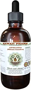 Ashwagandha Alcohol-FREE Liquid Extract, Organic Ashwagandha (Withania Somnifera) Dried Root Glycerite 2oz