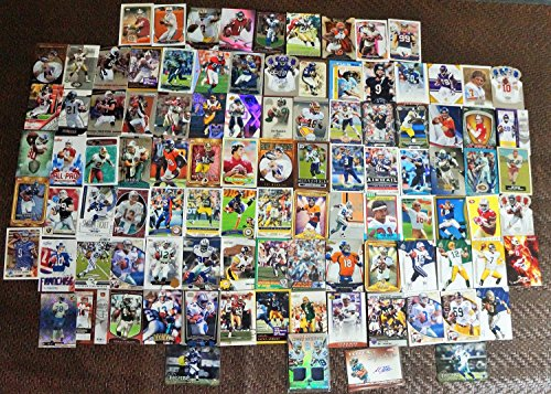 FOOTBALL STAR CARDS 400 COUNT BOX JERSEYS/AUTO/INSERTS/ROOKIES BRADY/MANNING/ROGERS/ETC (Football Star)