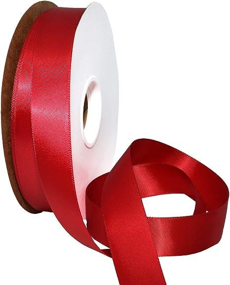 55 yard roll 1 orange sherbert french silk ribbon