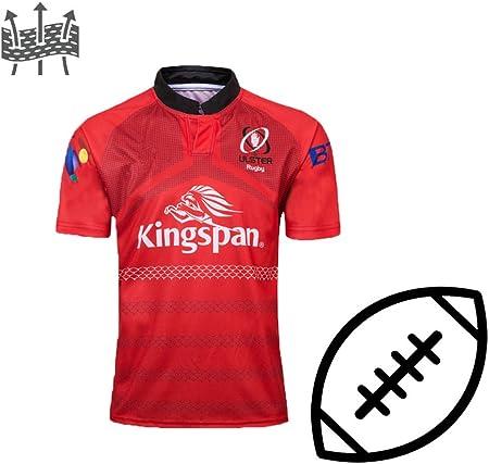 FJXJLKQS Camiseta De Rugby Camiseta De Fútbol para Adultos Camiseta De La Copa del Mundo Polo Camiseta De Rugby Juvenil Top Deportivo De Manga Corta Cómodas Camisas Transpirables De Poliéster,Red-XXL: Amazon.es: Hogar