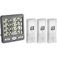 TFA-Dostmann Funk-Thermo-Hygrometer Klima-Monitor TFA 30.3054 Raumklimakontrolle