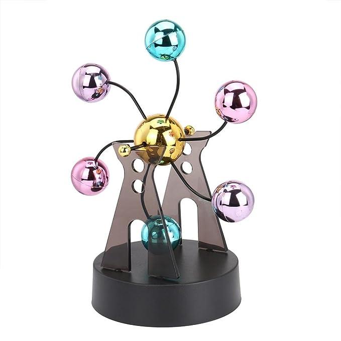 fa6923d5195 Elettronico Perpetuo Movimento Scrivania Giocattolo Girevole Balance Balls  Giocattolo di scienze fisiche Revolving Balance Balls Physics