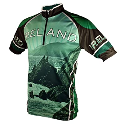 Wild Atlantic Ireland Cycling Jersey (XXL) at Amazon Men's Clothing store