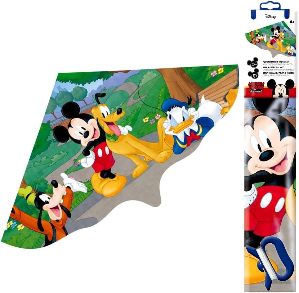 Cometas para niños | Dragon de plastico | 115 x 63 cm | Mickey ...