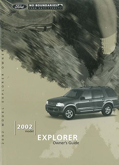 2002 ford explorer sport owners manual
